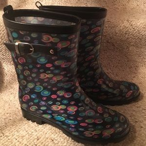 Capelli NY Colorful Rain Boots